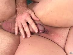 Jeffs Models - Mature Latina BBW Lacy Bangs Anal Compilation Part 1