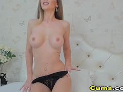 My Hot Busty Neighbor With Huge Tits Fucks Pussy With Toy
