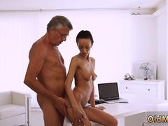 Stockings and heels compilation Finally shes got her manager dick