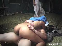 Bengali girl muslim first time Sneaking in the Base