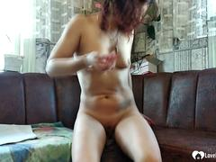 Stepdaughter gets her tight cunt fucked without mercy