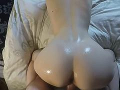 Amateur Teen with Big Oily Ass Fucked Hard POV 4K 60FPS Shinaryen 720p - T