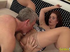 Golden Slut - Older Beauties Licked and Fingered Compilation