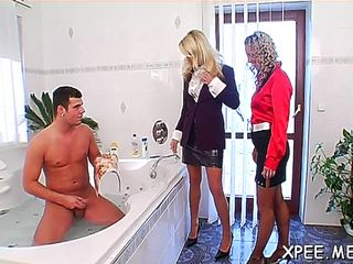 Sexual sweetheart melissa black gets her copher tamed