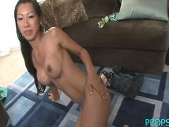 Lusty idol tia ling fucks in a nonstop style