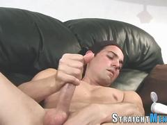 Horny amateur stroking