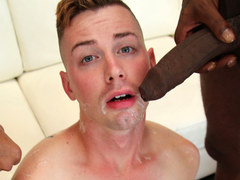 Interracial gay porn with Kyler Ash