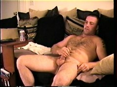straight boy justin jacks off video