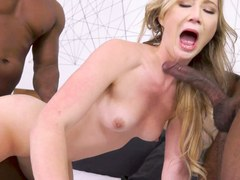 April Aniston Wants Interracial Anal Threesome With BBC